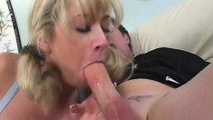 Thoroughly sexy anal blonde searches for a chance to destroy big cocks