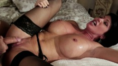Shay Fox is a banging hot MILF who loves young and big dicks