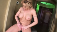 Big breasted blonde cougar Brooke Haven is on the prowl for pleasure