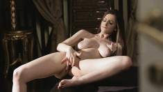 Naughty Young Beauty Puts Her Body On Display And Fingers Her Snatch