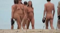 Beach Voyeur Captures Public Sex
