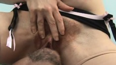 Horny red head plops her big fat ass on top of her man's face