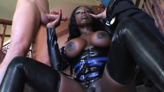 Extremely hungry vixen Coco is devouring mesmerizing white dick
