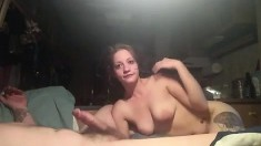 Big and busty tit pornstar