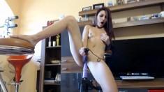 Horny Step Sister Solo Masturbation To Orgasm