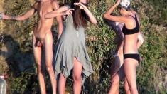 Amateur Outdoor Group Sex