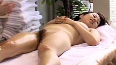 Hidden Cam On Asian Nipple Hairy Pussy Massage Penetration