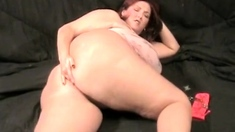 Fat guy fucks his fat mature wife in hot cunt