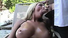 Wild and naughty chick begs her lover to stick it in her from behind