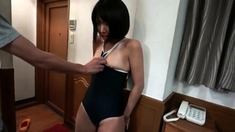 Hiraku Ukita Japanese Teen Enjoying A Small Cock