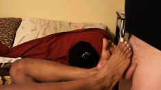 Rod Fontana and Michelle Malone enjoy some freaky foot playtime